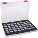 Slika izdelka Kovček s 40 posodicami za kamenčke