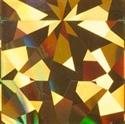 Slika izdelka Folija za odtis hologram gold flakes 1,5 m