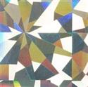 Slika izdelka Folija za odtis hologram silver flakes 1,5 m