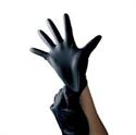 Slika izdelka Močne zaščitne črne nitril rokavice L 100 kom