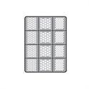 Slika izdelka Air nails šablone dragon scales kolekcija